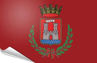 Adhesive flag Livorno
