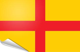 Adhesive flag Lodi