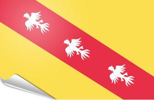 Adhesive flag Lorraine