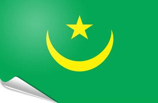 Pegatinas adesivas Mauritania