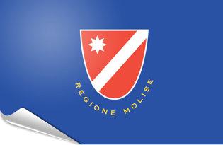 Adhesive flag Molise