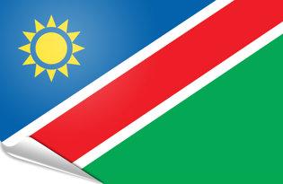 Adhesive flag Namibia