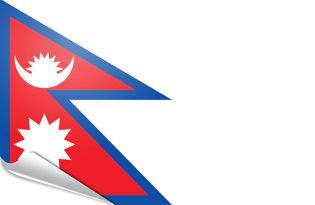 Pegatinas adesivas Nepal