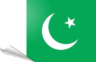 Adhesive flag Pakistan