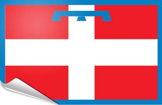 Adhesive flag Piedmont