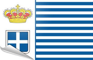 Adhesive flag Seborga Principality