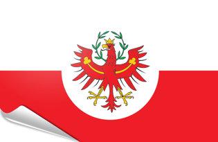 Adhesive flag South Tirol