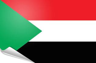 Pegatinas adesivas Sudan