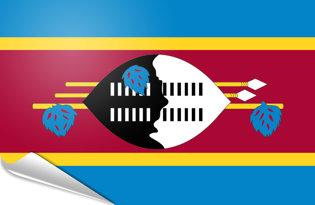 Pegatinas adesivas Swazilandia