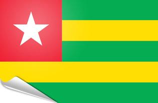 Pegatinas adesivas Togo