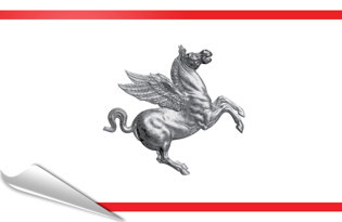 Pegatinas adesivas Toscana