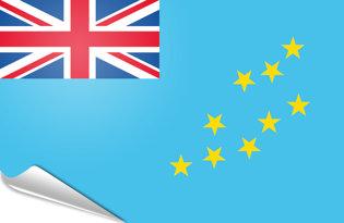 Adhesive flag Tuvalu