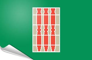 Adhesive flag Umbria