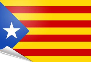 Adhesive flag Estelada