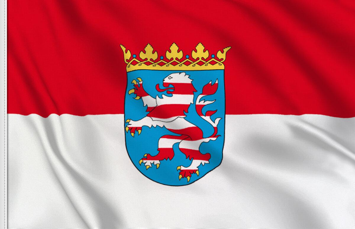 Germany Baden-Württemberg State Polyester Table Desk Flag
