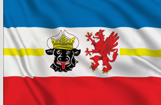 Flag Mecklenburg-West-Pomerania