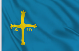 Flag Asturias official