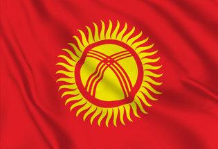 Bandera Kirguizistan