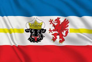 Bandera Mecklemburgo-Pomerania