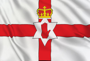 Flag Northern Ireland-Ulster