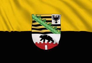 Flag Saxony-Anhalt