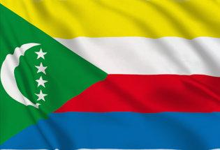 Flag Comoros