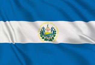 Flag El Salvador State
