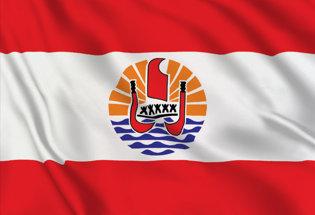 Flag French Polynesia