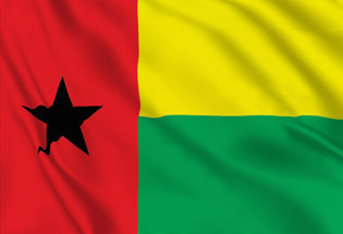 Bandera Guinea Bissau