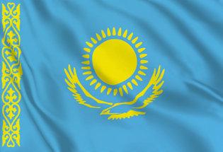 Bandera Kazajistan