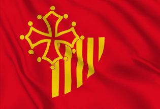 Bandera Languedoc-Rosellon