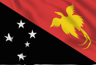 Bandera Papua Nueva Guinea