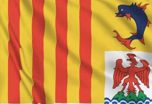 Flag Provence-Alpes-Cote-Azur