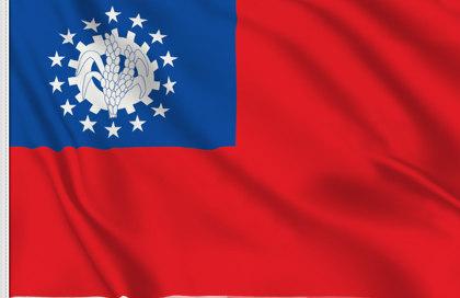 Flag Birmania