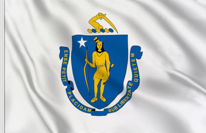 Flag Massachussetts