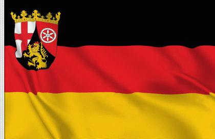 fahne Rheinland-Pfalz, flagge von Rheinland-Pfalz