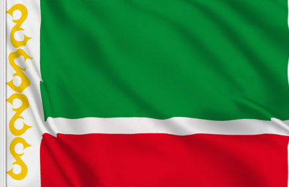 Flag Chechen Republic