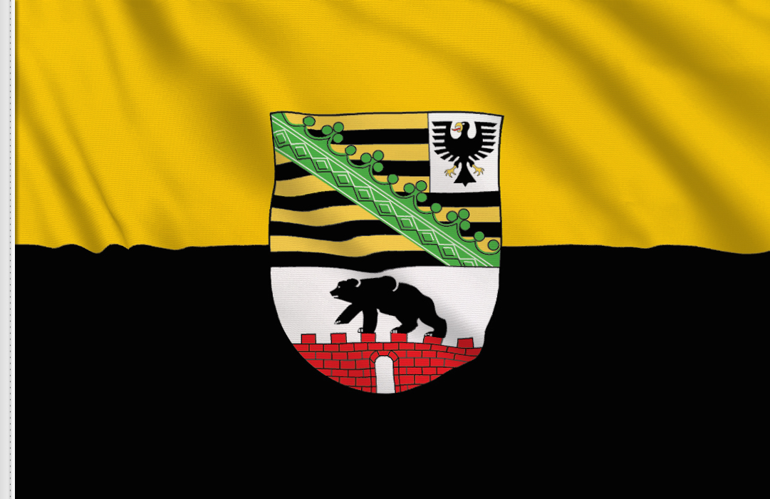 Flag sticker of Lower-Saxony