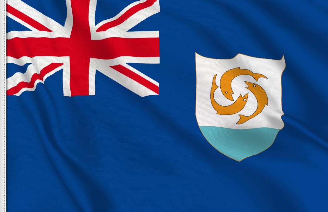 fahne Anguilla, flagge von Anguilla