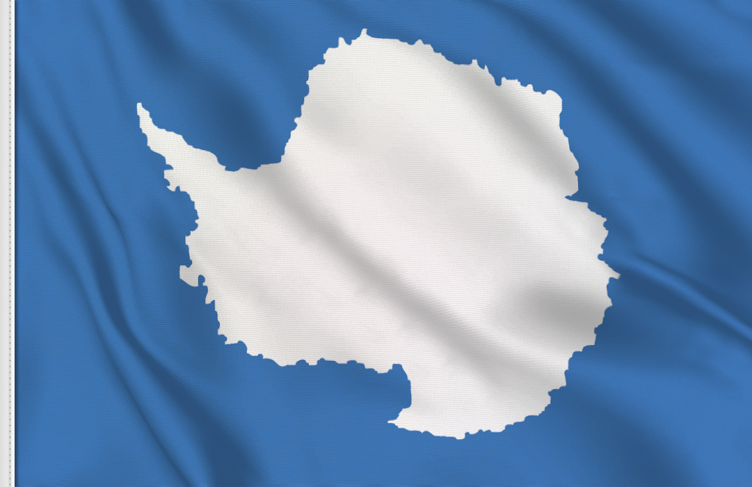 drapeau Antarctide