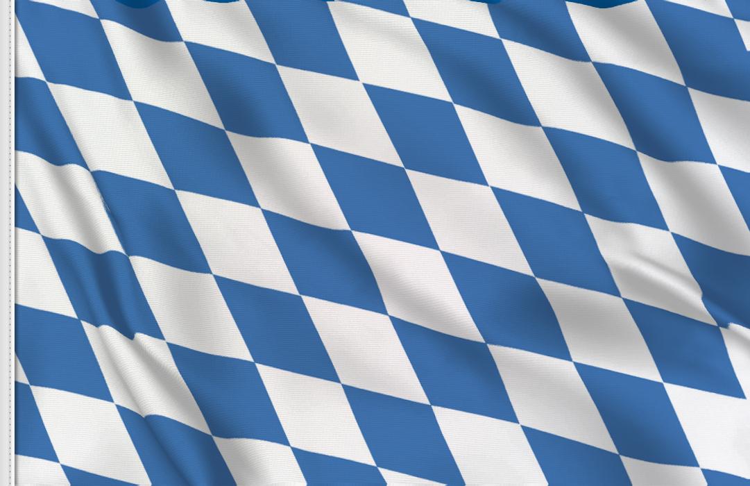 fahne Bayern, flagge von Bayern