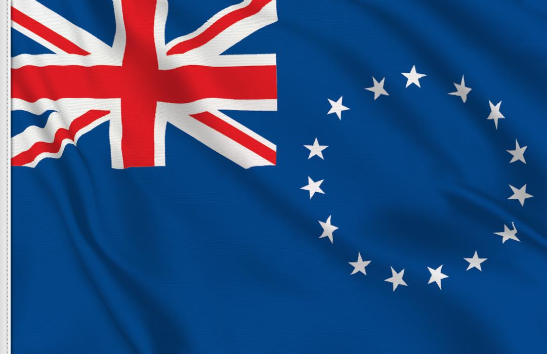 Cookinseln aufkleber fahne