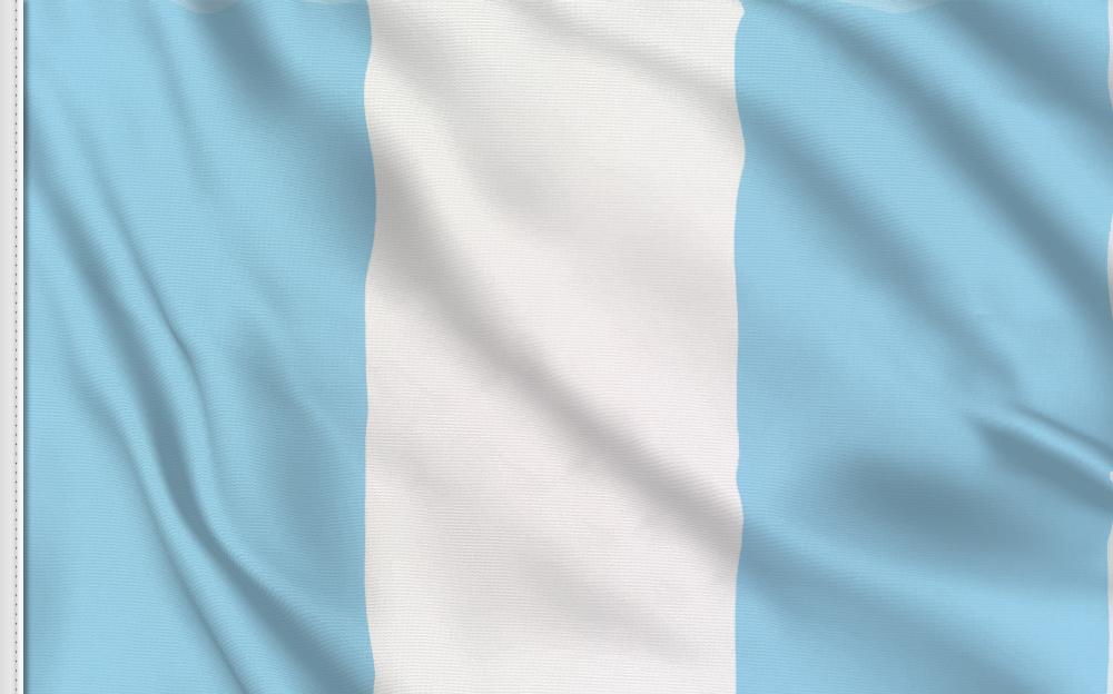 Flag sticker of Guatemala