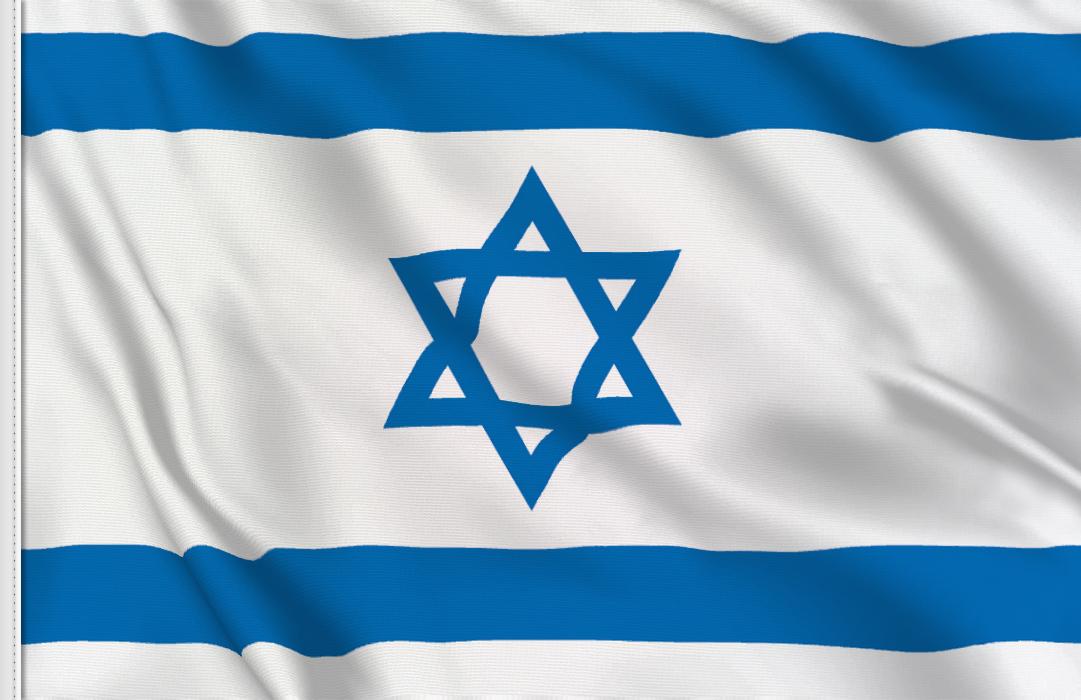 flag sticker of Israel