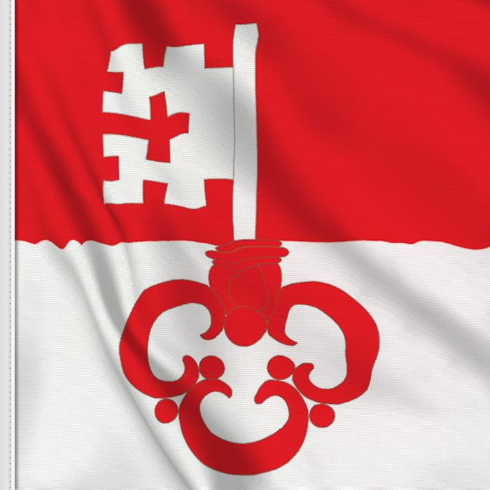 flag sticker of Obwalden