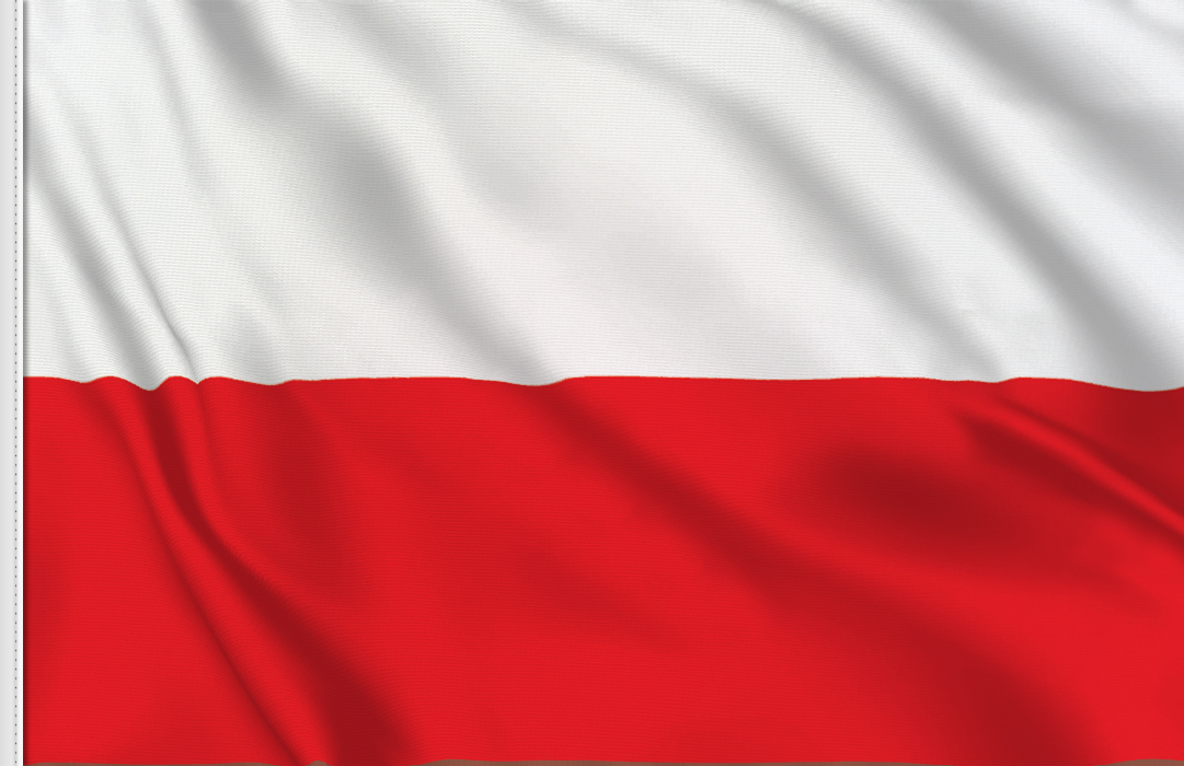 flag sticker of Poland