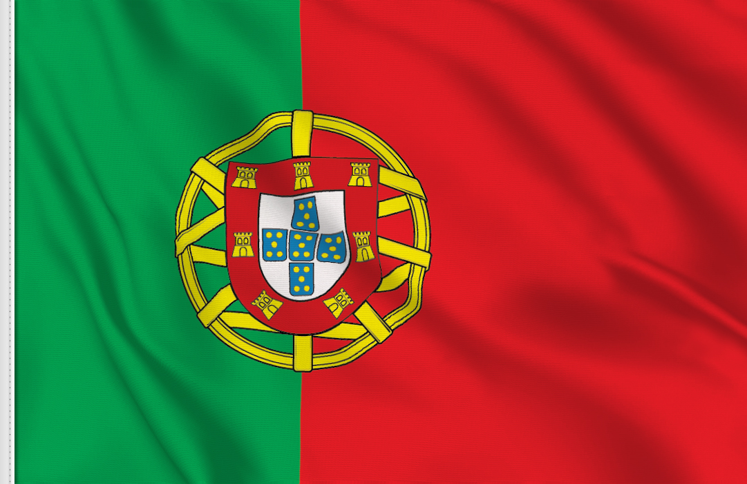 flag sticker of Portugal