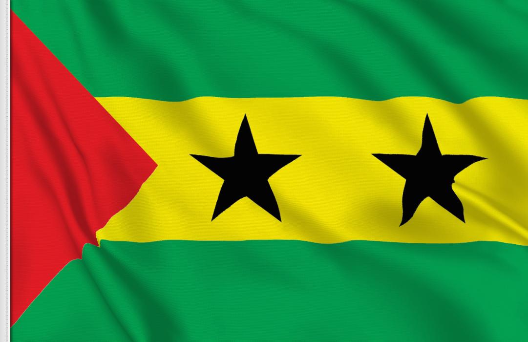 Tischfahnen von  Sao Tome und Principe
