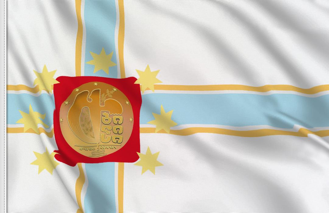 fahne Tbilisi, flagge Georgian