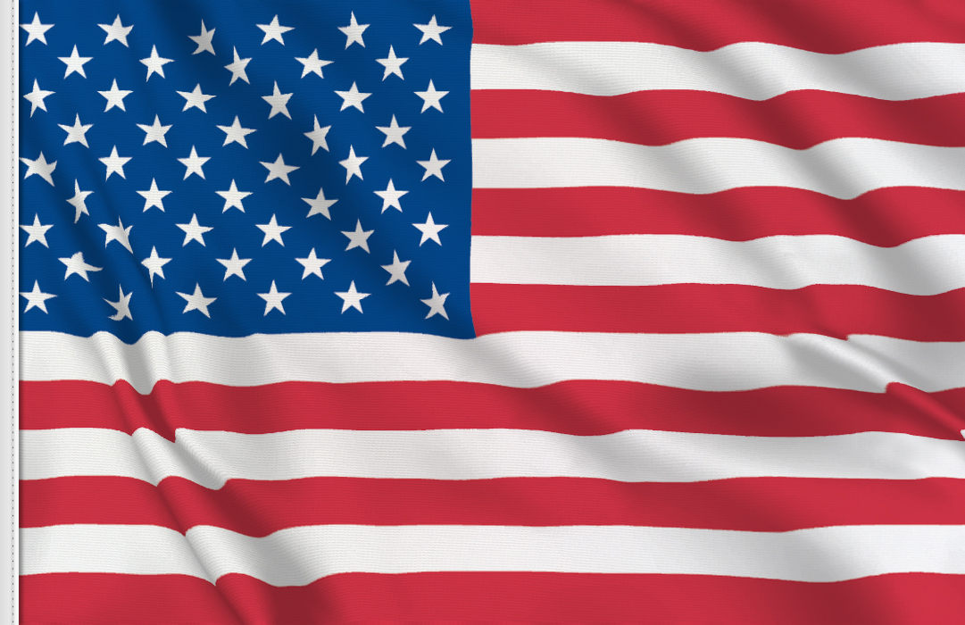 Drapeau adesif Etats Unis